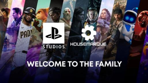"""索尼收购《死亡回归》工作室Housemarque,否认与微软""""军备竞赛"""""""