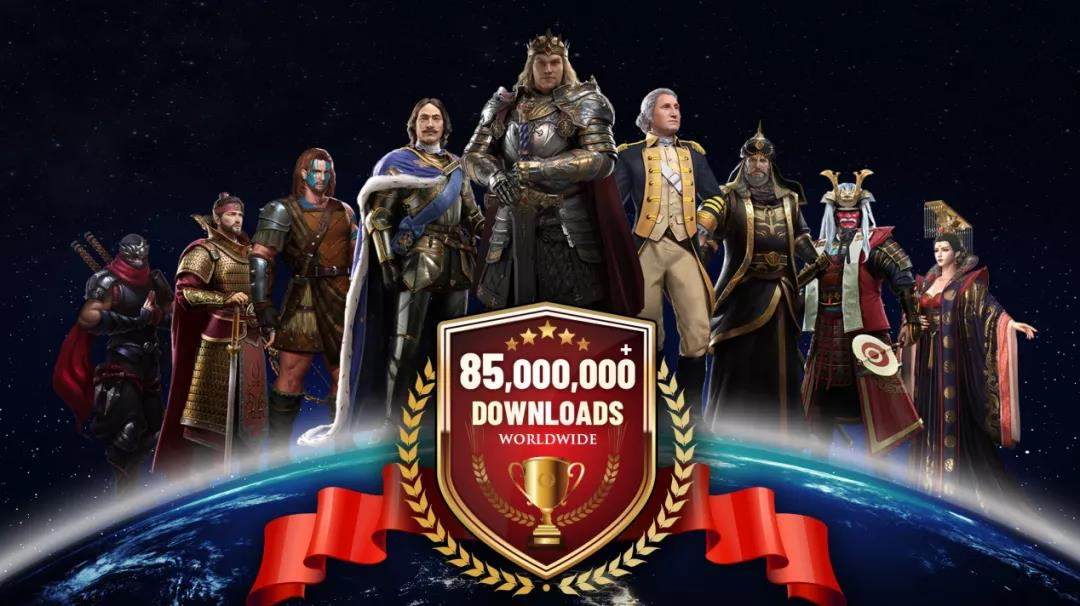 """全球8500万次下载!这款5年前上线SLG,靠这个""""魔性玩法""""翻红了"""
