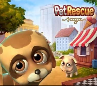 King三部曲:推手游Pet Rescue Saga