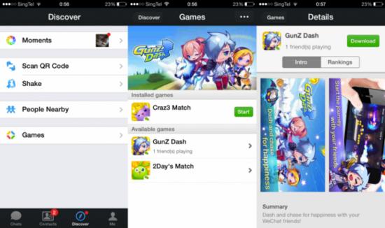 wechat游戏平台全球化,聊天应用升级社交平台
