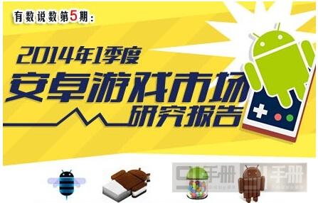 中国移动:2014年Q1安卓游戏市场数据分析