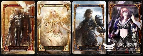 卡牌游戏的三个类型 gacha类型崛起