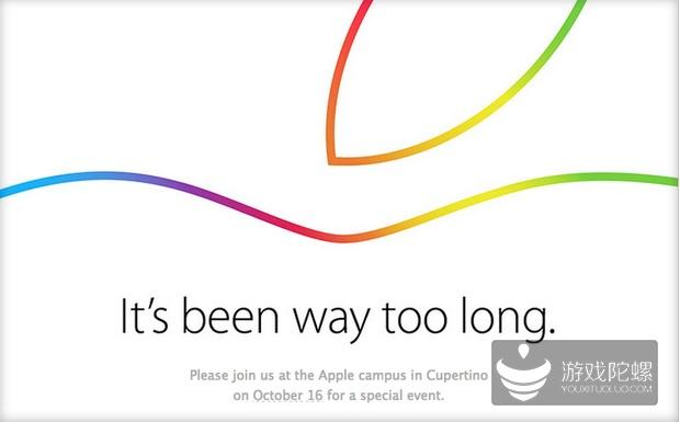 苹果10月16日举行发布会 或推新iPad