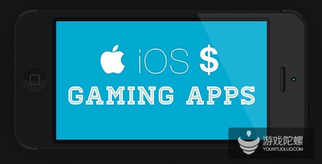 Topapps:收入最高的iOS游戏应用–信息图