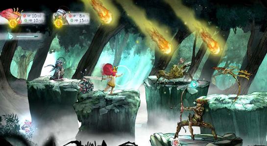 """艺术风浓郁的日式RPG《光之子》也是育碧""""试水型项目""""的产物"""