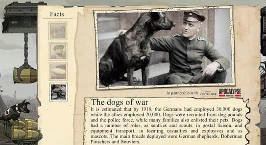 说的正是这张军人与警犬友好合影的老照片