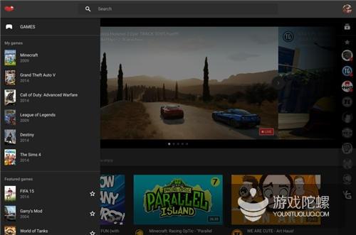 YouTube游戏视频网站明日上线 逾2.5万款游戏入驻