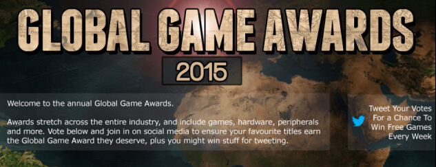 2015年全球游戏大奖获奖名单出炉:《巫师3》斩获年度最佳