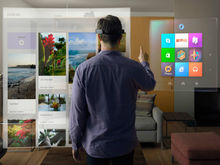HoloLens投射新闻信息流