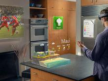 HoloLens收看视频和查看天气