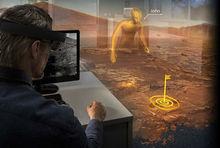 HoloLens协助模拟登陆火星场景