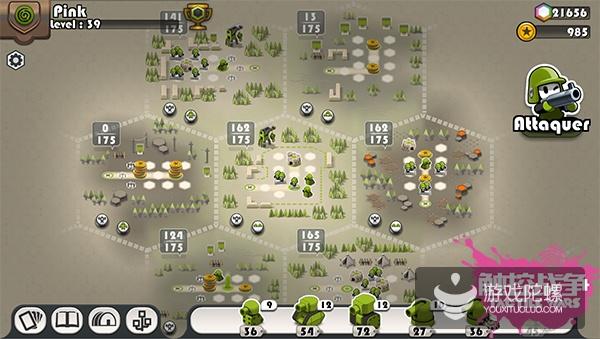 获苹果全球50多国推荐后,《触控战争Tactile Wars》将推中文版手游