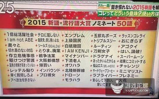 2015年,日本都发生了哪些大事件?