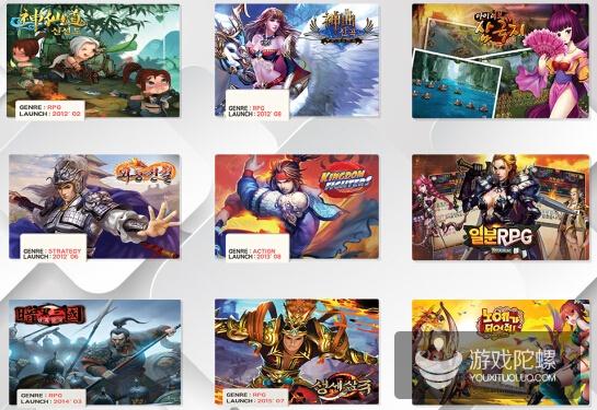 韩国本土厂商Entermate上市:主要发行中国游戏