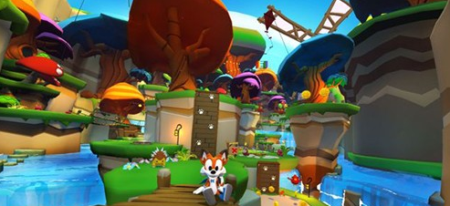 Oculus首发游戏《Lucky's Tale》开发者:如何有效平衡VR与传统游戏玩法