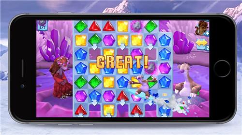 Zynga与福克斯数字娱乐合作 推《冰川时代》三消手游
