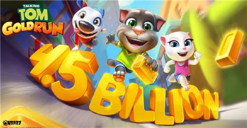 《会说话的汤姆猫》推跑酷手游 全系列产品下载超45亿次